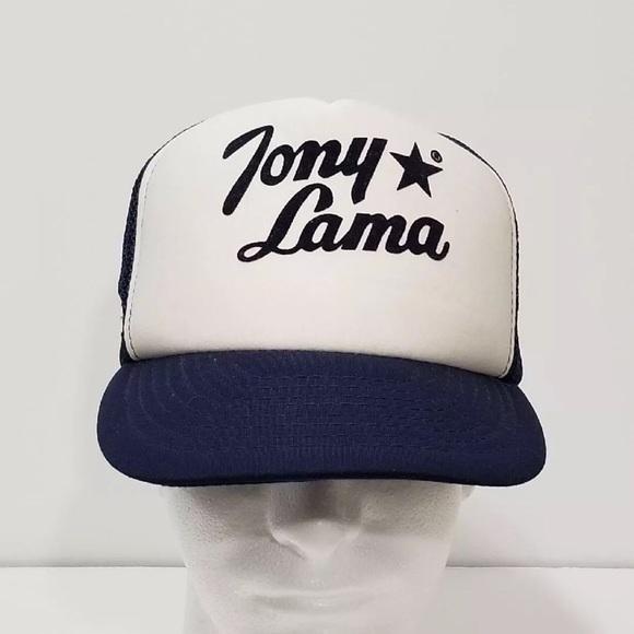 6fb23e28 Vintage Tony Lama Trucker SnapBack Mesh Hat. M_5b4c1d832e147893d8294170